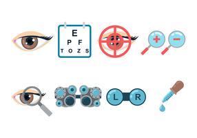 vector de prueba de ojo