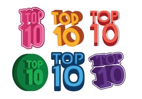 Top 10 vector set