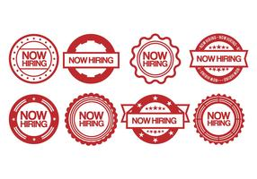 Now hiring vector set