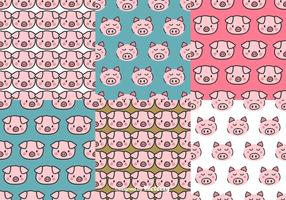 Pig Face Pattern Set