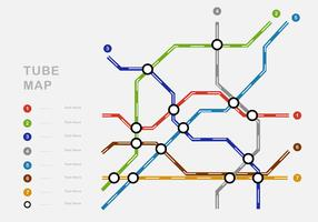 Carte du tube complexe