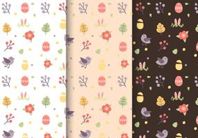 Free Easter Pattern Vector
