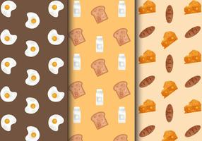Free Cute Breakfast Food Patterns