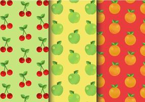 Modèles de fruits mignons gratuits