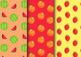 Gratis Seamless Fruit Patterns