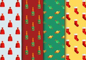 Free Seamless Christmas Patterns
