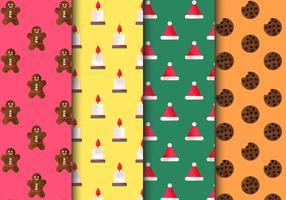 Padrões de Natal sem costura grátis