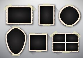 Template photo edges realistic