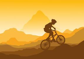 Bicicleta BMX Vector