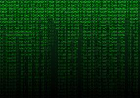 Matrix Background Free Vector