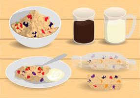 vector livre de granola