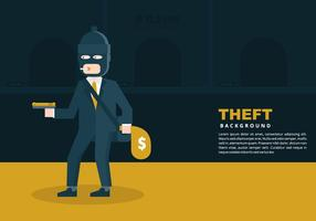 Theft Background vector