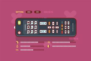Tv Remote Illustration