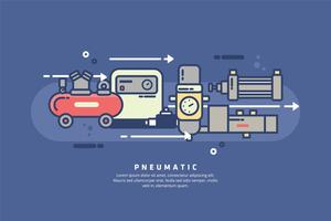 Pneumatic Illustration