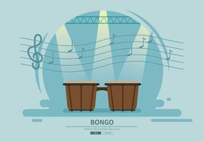 Gratis Bongo Drum Illustration
