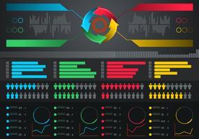 Infographik Elemente kostenlose Vektor