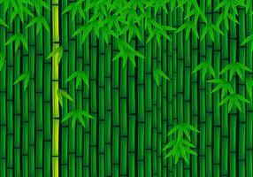 Vector de bambú gratis