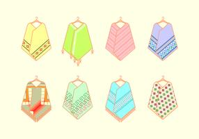 Hanging Poncho Free Vector