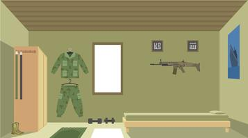 Navy Seals Room Free Vector