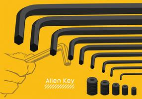 Allen Key Vector Art