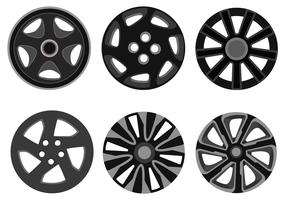Hubcap Vector Pack