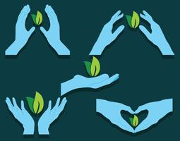 Healing Hands Vector Pack