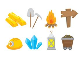 Iconos de Gold Rush