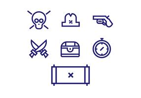 Piraten pictogram