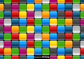 Vector Colorful Tiled Background - Seamless