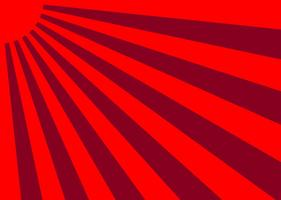 Vector Japan Sunburst Effect Background