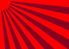 Vector Giappone Sunburst effetto di sfondo