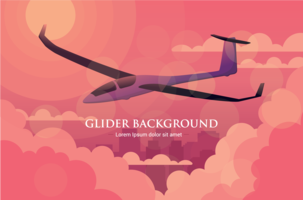 Glider Vektor Illustration