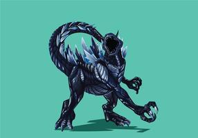 Vecteur de Godzilla
