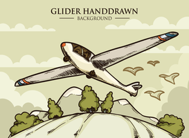 Glider Vector Illustration