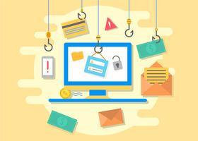 Kostenlose Iconic Phishing Vektoren