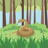 Free Anaconda Illustration
