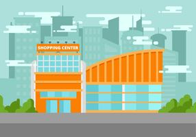 Gratis Shopping Center Vektorillustration