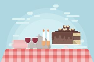 Gratis Buckeye Cake Illustration