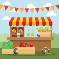 Gratis Concession Farm Produkt Vector