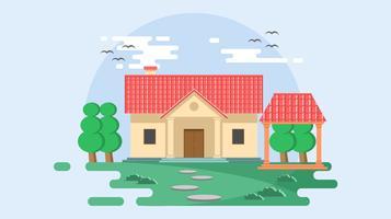 Vector libre de azulejo de techo