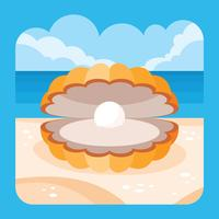 Scallops Vector Illustration