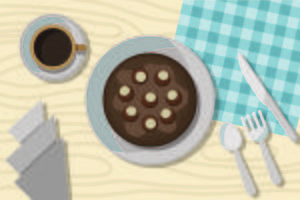 Free Buckeye Cake Illustration