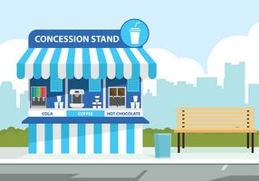 Concession Stand Drink Gratis Vector
