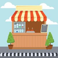 Concession Illustration Vector