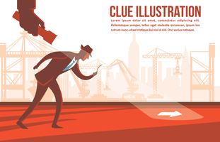 Clue Vector Illustration