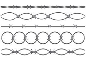 Razor Wire Vector Set