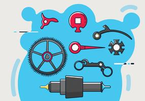 Watch Parts Vector Pack