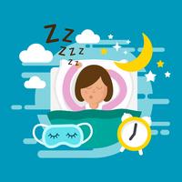 Illustration vectorielle gratuit Bedtime