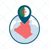 Vecteurs emblématiques de l'Algérie