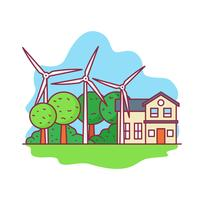 Energía del molino de viento, recurso natural